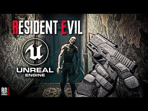 RESIDENT EVIL 1: REMAKE || UNREAL ENGINE 4 | First Person