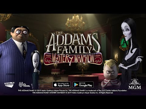 The Addams Family Mystery Mansion - iOS & Android Game Trailer