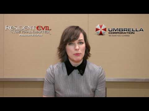 Greeting Milla Jovovich - exclusieve Resident Evil: The Final Chapter escape room