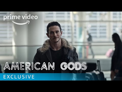 American Gods - Low Key Lyesmith on Airports | Prime Video