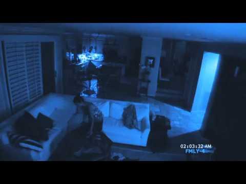 """Paranormal Activity 2"" Clip Ali Picks up her ouija board"