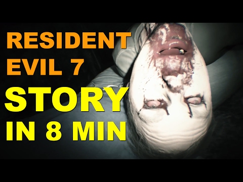 Resident Evil 7 Story - Entire Storyline in 8 Minutes