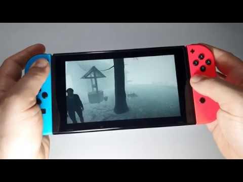 Nerved Nintendo Switch handheld gameplay