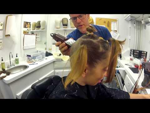 """Becoming """"Pepper"""" – AHS' Naomi Grossman's Big Head Shave"""