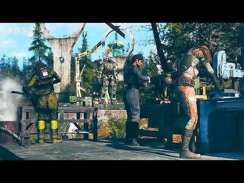 FALLOUT 76 Multiplayer Online Reveal Gameplay (E3 2018)