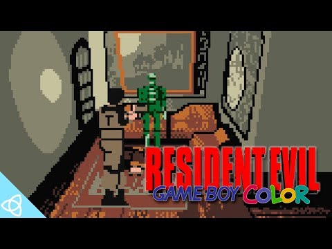 (GBC) Resident Evil 1 - Cancelled Game Boy Color Version Gameplay