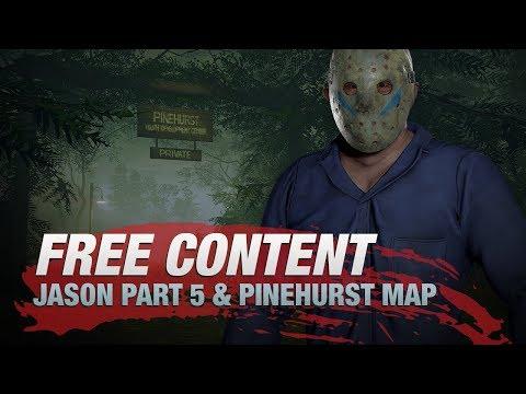 Friday the 13th: The Game - Jason V and Pinehurst