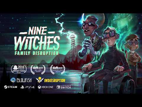 Nine Witches Family Disruption - Coming Soon!