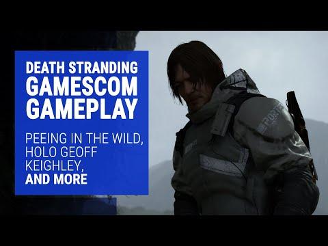 Death Stranding Gameplay - 6-Minute Gamescom 2019 Demo - PS4