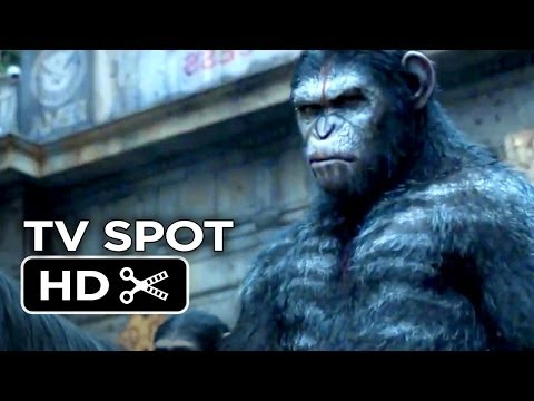 Dawn Of The Planet Of The Apes TV SPOT 1 (2014) - Keri Russell, Andy Serkis Movie HD