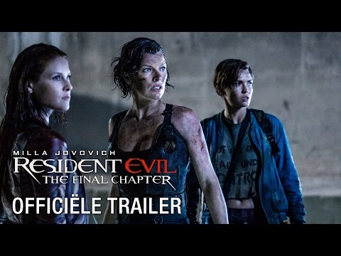 Resident Evil: The Final Chapter | HD ondertitelde trailer 1