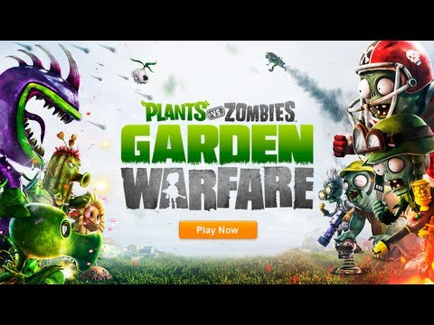 Plants vs. Zombies: Garden Warfare - Official E3 Reveal Trailer