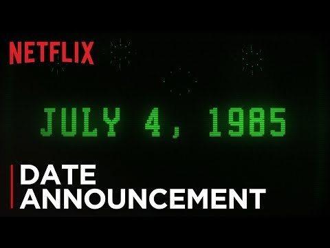 Stranger Things: Season 3 | Date Announcement [HD] | Netflix