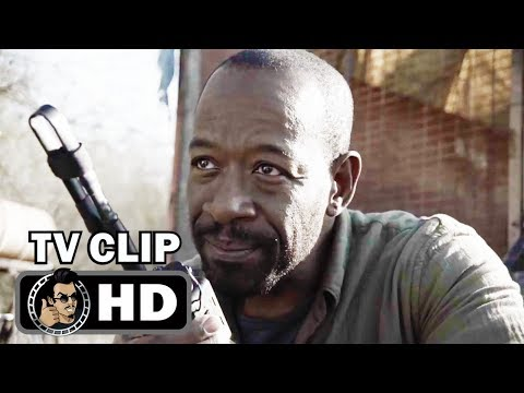 "FEAR THE WALKING DEAD S04E09 Official Clip ""Opening Scene"" (HD) Lennie James Series"