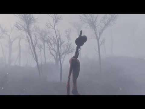 Sirenhead in Fallout 4 - Whispering Hills 2.2 Sirenhead Showcase