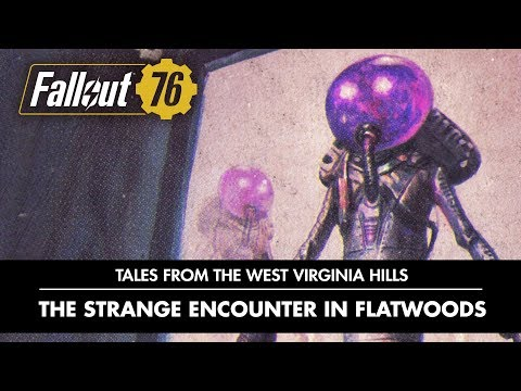 Fallout 76 Tales from the West Virginia Hills - Who goes there! PEGI