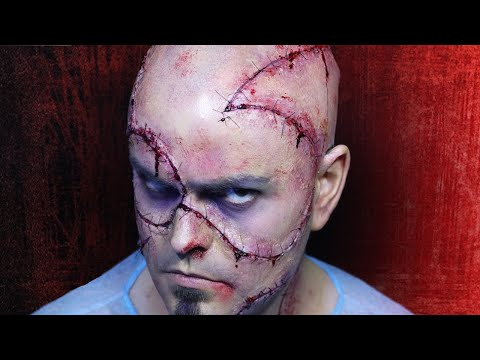 Stitched Up! - FX Makeup Tutorial - Nightmare Cinema!