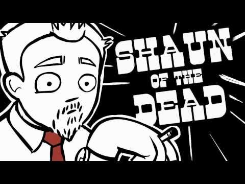Shaun of the Dead - Done in 60 Seconds (à la Brian Lee O'Malley)