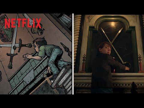 Locke and Key | Van stripboek tot serie | Netflix