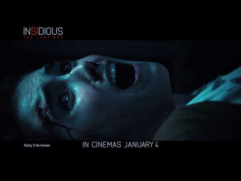 INSIDIOUS: THE LAST KEY - Times up - In Theatres 4 Jan 2018