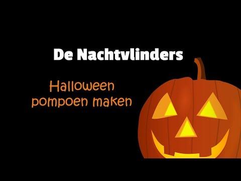 Maak je eigen Halloween-pompoen met De Nachtvlinders