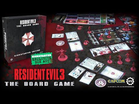 Resident Evil™ 3: The Board Game | Kickstarter Trailer