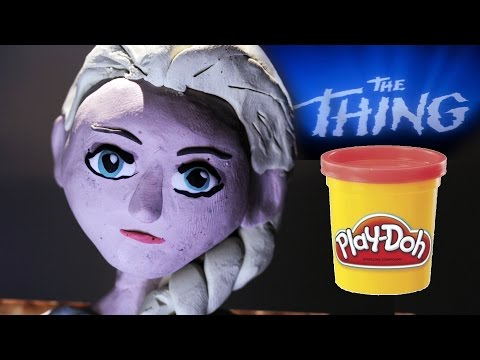 FROZEN - BLOOD TEST SCENE | a Stop motion Animation