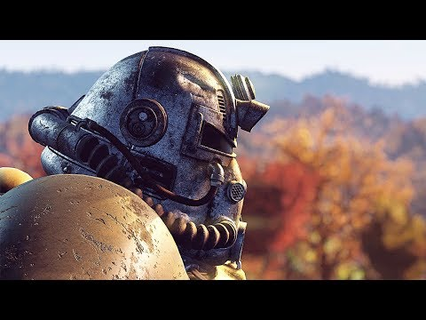 FALLOUT 76 Gameplay Demo Walktrough (E3 2018) MP Online Reveal