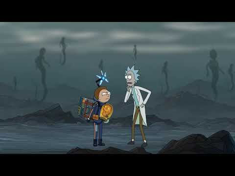 Death Stranding Rick & Morty ad