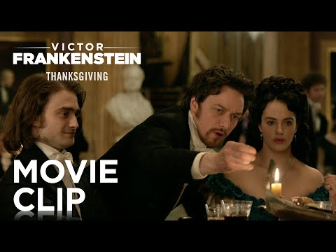 "Victor Frankenstein | ""Life is Beautiful"" Clip [HD] 