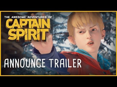 Captain Spirit Announce Trailer [E3 2018]