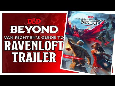 Van Richten's Guide to Ravenloft Reveal Trailer - D&D Beyond