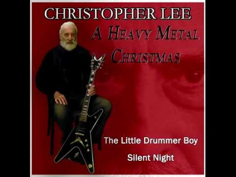 Christopher Lee. A Heavy Metal Christmas