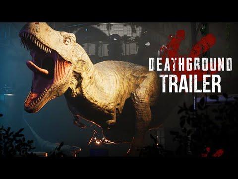 Deathground Trailer | NEW DINOSAUR SURVIVAL HORROR GAME (Trailer)