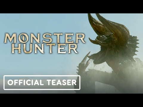 Monster Hunter - Exclusive Official Movie Teaser Trailer (2020) Milla Jovovich, Tony Jaa