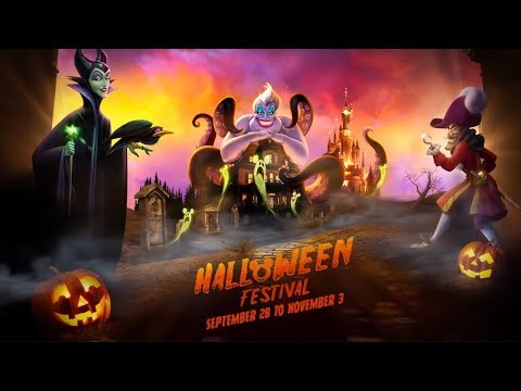 🎃Disney's Halloween Festival: Dare you face the tentacular Halloween tricks ? 👻