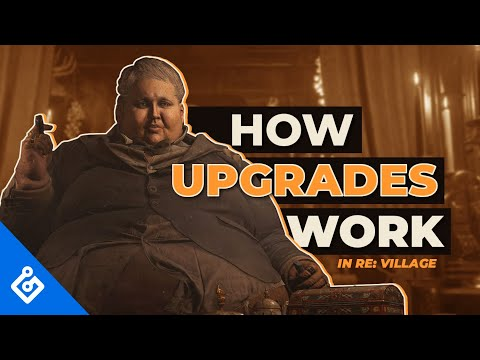 Resident Evil Village: Exclusive Look At How Upgrades Work (4K)