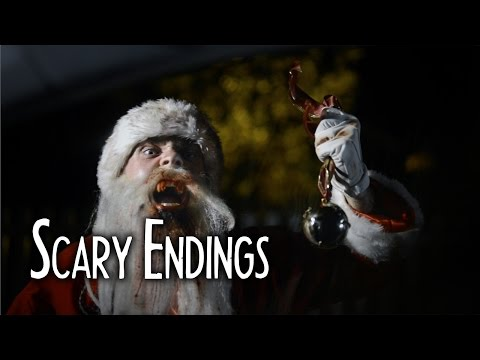 SANTA CLAUS IS A VAMPIRE Short Horror Film - Scary Endings 2.2
