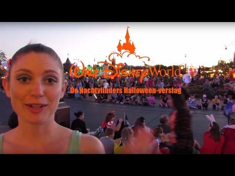 De Nachtvlinders vieren Halloween in Walt Disney World Orlando