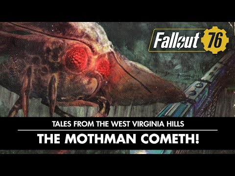 Fallout 76 Tales from the West Virginian Hills - The Mothman Cometh! PEGI