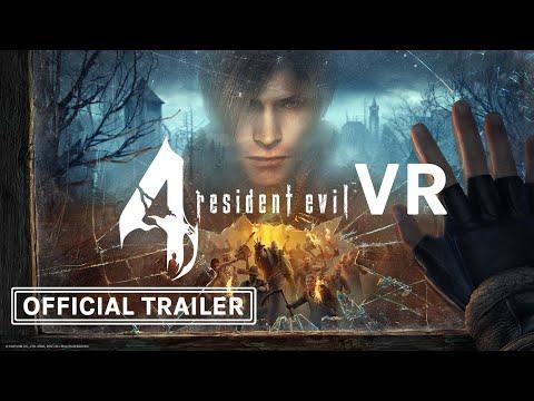 Resident Evil 4 VR Gameplay, Release Date Trailer (Capcom, Armature, Oculus Studios) Oculus Quest 2