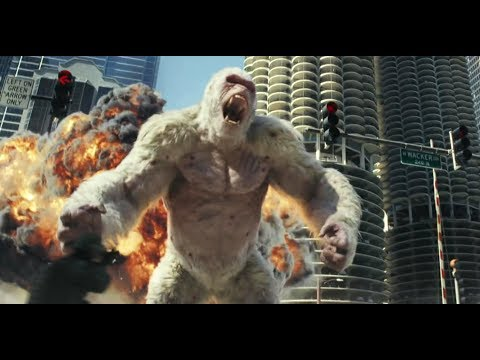 RAMPAGE (2018) Official Trailer (HD) BASED ON GAME | Dwayne Johnson