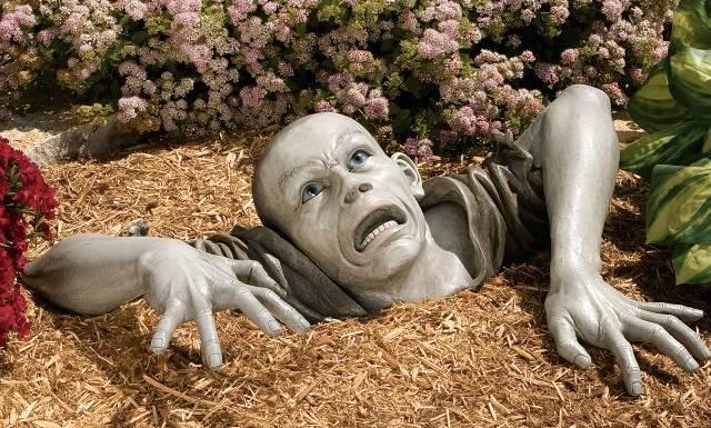 Tuinkabouter Zombie