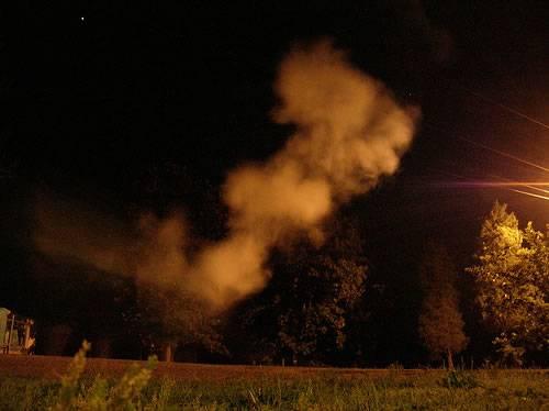 geest vuurwerk bij oud en nieuw