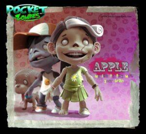 pocket-zombies Apple designertoy