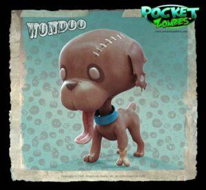 Pocket Zombies Wondoo toy