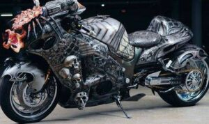 predator bike - motor hayabusa