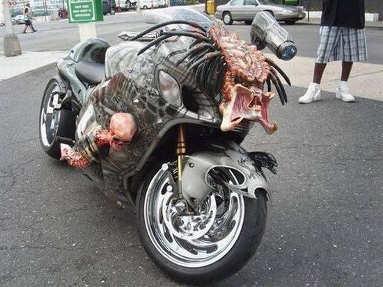 predator bike - suzuki hayabusa