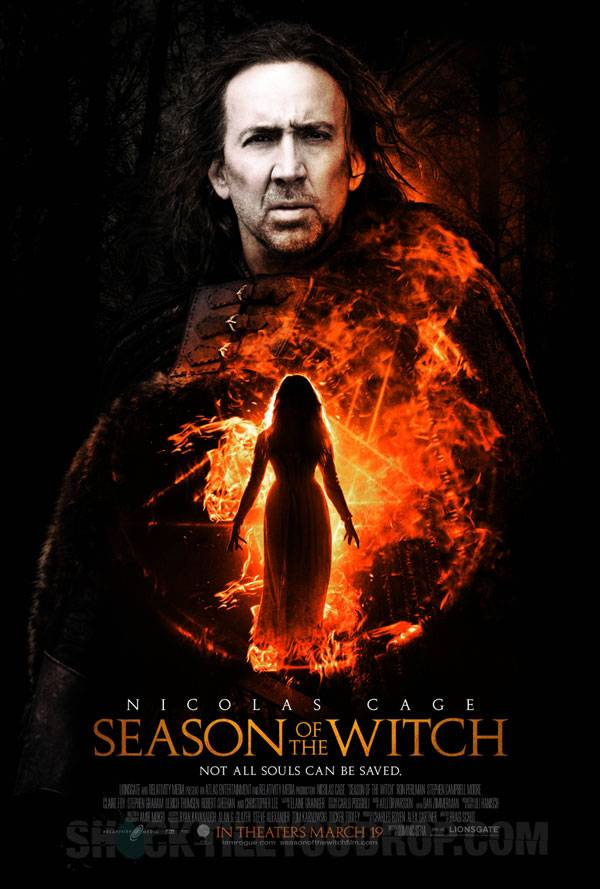 season of the witch filmposter - nicolas cage