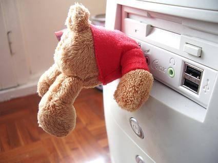 USB geheugenstick teddybeer